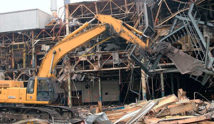 Демонтаж металлических конструкций